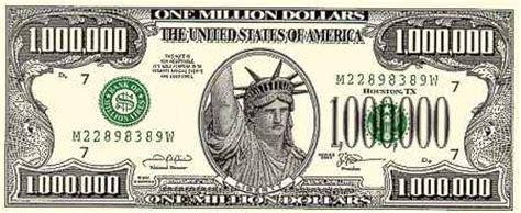 new year dollar bill tradition million dollar bills