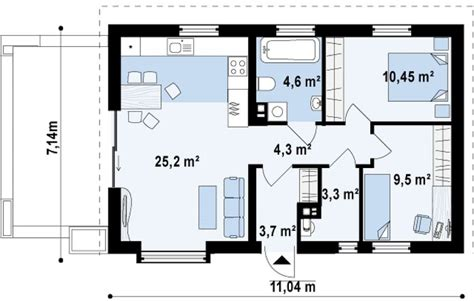 Average Square Meters Of 3 Bedroom House by Small Houses 100 Square Meters Houz Buzz