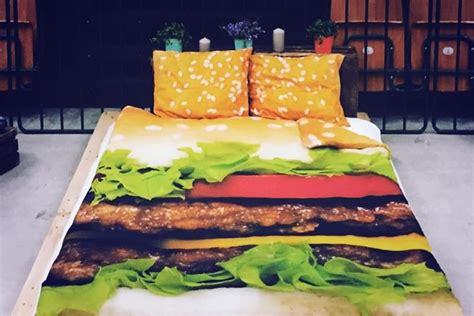 letto hamburger il set da letto hamburger dottorgadget