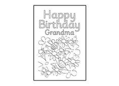 printable birthday cards for grandma free printable birthday cards six lovely free printable