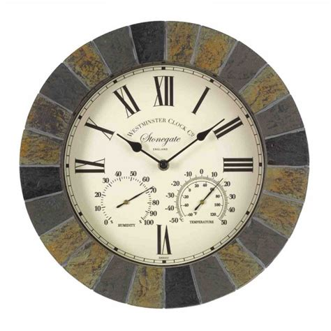 stonegate wall clock thermometer  smart garden
