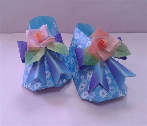 Origami Baby Shoes - 309 best images about origami dobragens on