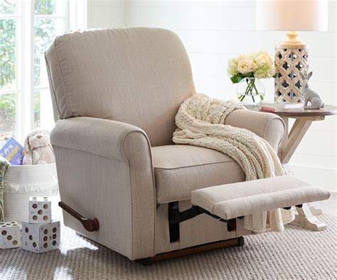 reclining rocking chair nursery nursery furniture la z boy