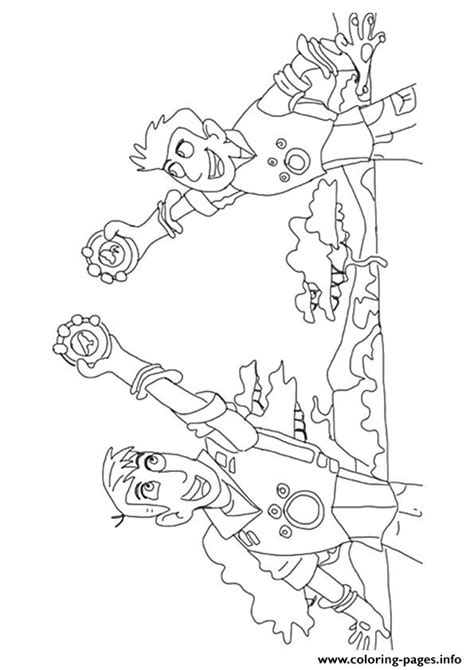 kratts coloring page jimmy z with koki coloring page coloring pages kratts