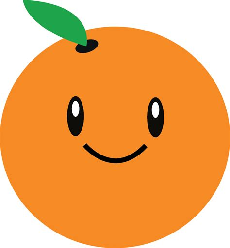 orange clipart orange fruit clipart pencil and in color