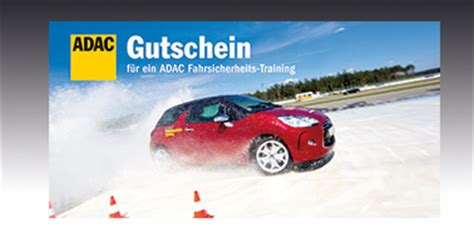 Sicherheitstraining Auto by Gutschein Bestellen