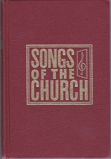 church hymnal song book