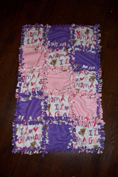 No Sew Fleece Quilt Blanket by 1000 Images About Diy Tie Blankets On No Sew