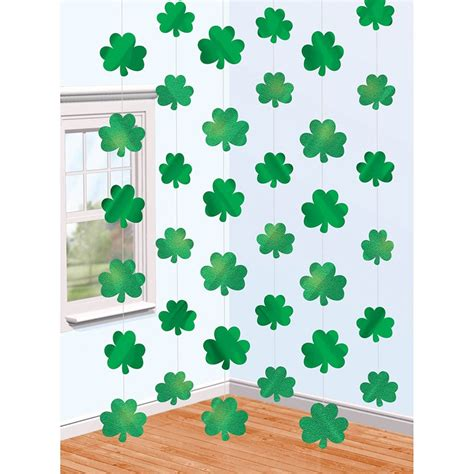 Shamrock Decorations Home St S Day Paper Crafts And Printables Landeelu