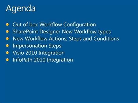 sharepoint designer 2010 workflow actions configuring workflows in sharepoint 2010