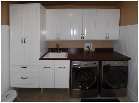 Laundry Room Cabinets Family New Laundry Room