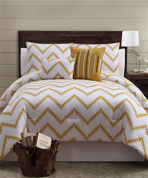 Gold Zigfield Comforter Set Something Special Every Day Pink And Gold Bedding Sets