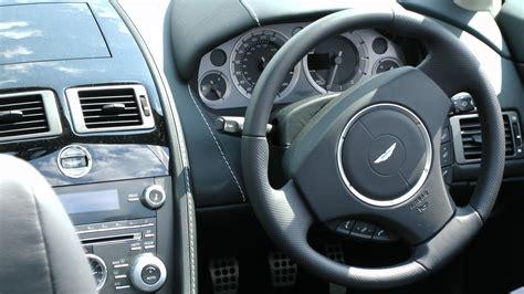 aston martin steering wheel aston martin vantage steering wheel free stock photo