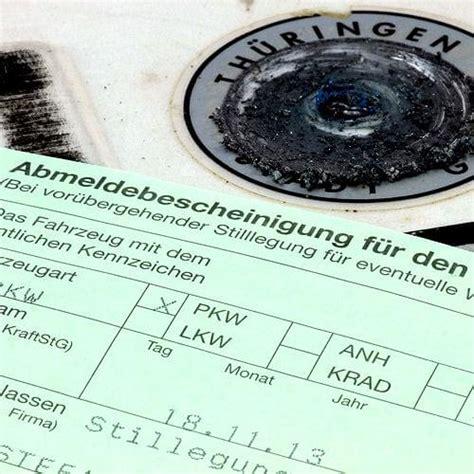 Auto Abmelden Wo by Ratgeber Kfz Zulassung Gt Gt So Funktioniert S