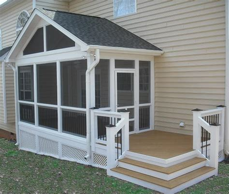 screen porch designs outdoors on pinterest screened in porch small pools and