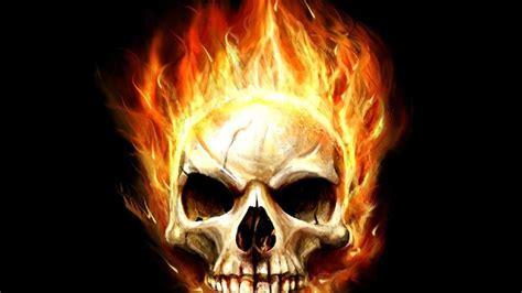imagenes de calaveras homies fondo pantalla calavera con fuego