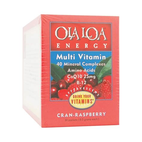 energy drink packets energy drink cran raspberry 30 packet ola loa