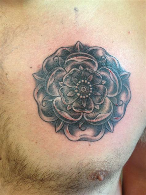 daniels new yorkshire rose tattoo tattoos pinterest