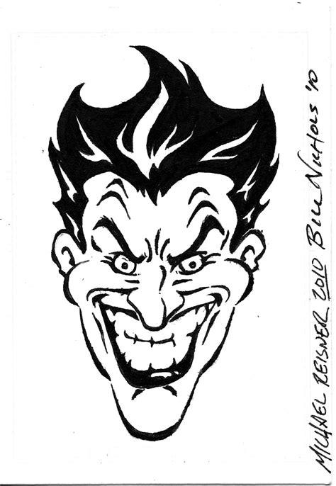 sketch of tattoo art joker sketch of tattoo art jester joker stock photo 64848583 lmm