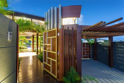 design and build house tropical house chris clout design