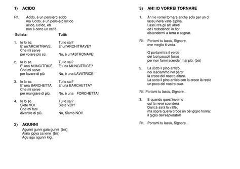 canzone per piero testo libretto canzoni by casa alpina vigilio flabbi issuu