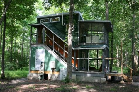 tiny house on foundation plans two story foundation tiny house hobo 02 live pinterest