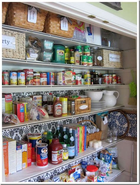 Food Pantry Closet How I Transformed A Coat Closet Into A Pantry In My Own