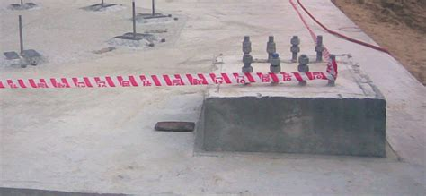 Foundation Pedestal completed casted concrete pedestal foundation welcome to