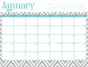 january calendar template january 2017 printable calendar printable january