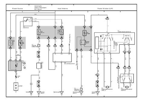 abs wiring diagram toyota harrier 5s toyota auto wiring