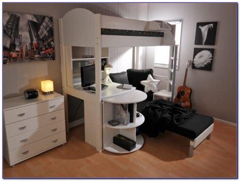 metal high sleeper beds with futon futons home design
