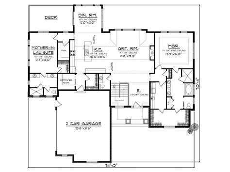 Empty Nester Floor Plans | empty nester house plans european style empty nester