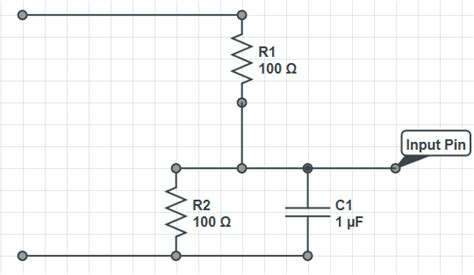 resistor divider time constant filter how to calculate voltage divider time constant electrical engineering stack exchange