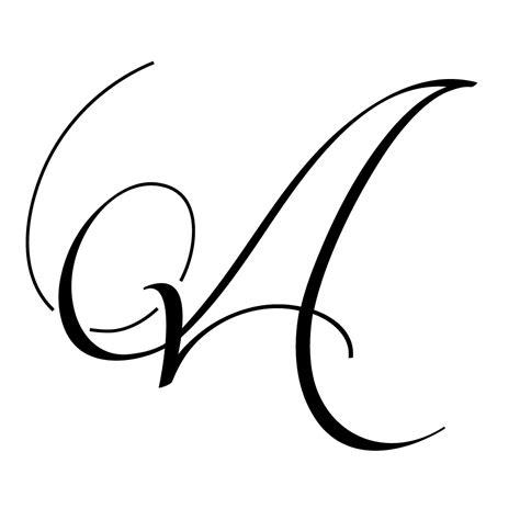 Wedding Monogram Letters 2 Monogram Letters Template