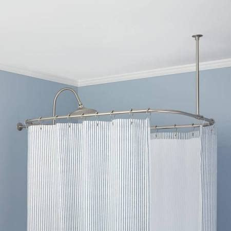 shower curtain for garden tub 17 best images about curtain rods on pinterest curtain