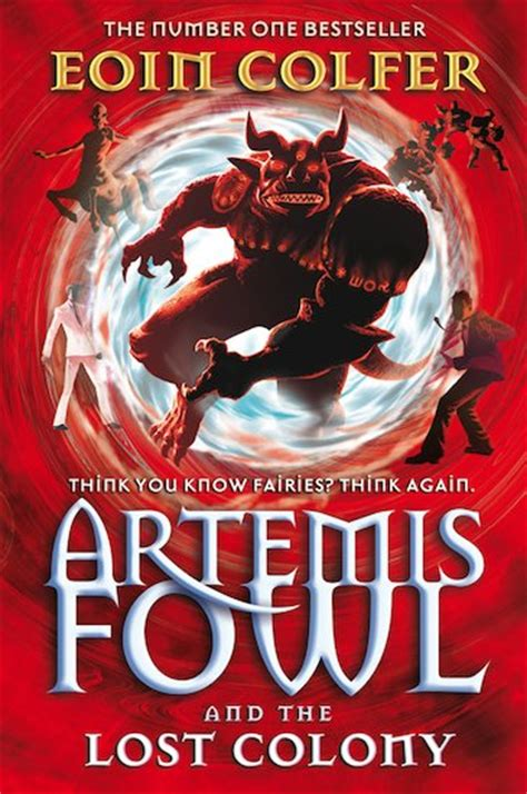 artemis fowl and the lost colony scholastic club