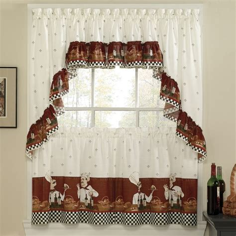 chef kitchen curtains cortinas para cocina accesorios de gran importancia