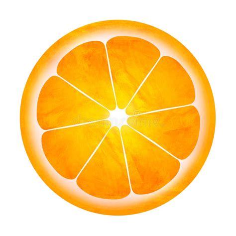 slice of orange illustration isolated on white stock illustration image 27099842