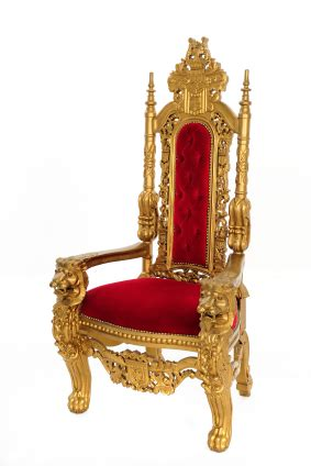 Royal Chair Rental On Thrones And Princes A Clarification And An Apology