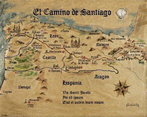 camino de santiago packing list mejores 149 im 225 genes de camino de santiago mapas en