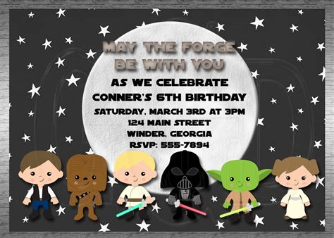 printable star wars invitations star wars free printable invitations search results