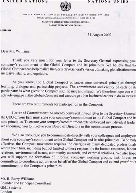 Recommendation Letter United Nations Pin Un Letter Of Recommendation For David Ellzey On