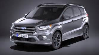 Ford Kuga Usa 2017 Ford Kuga Western European Edition With Evade