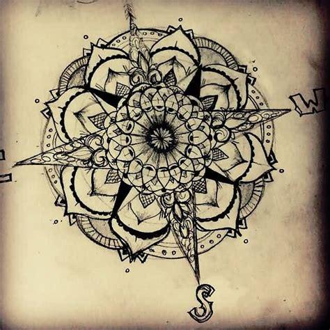 tattoo compass mandala 30 latest compass tattoo designs
