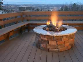 Propane Outdoor Firepit Outdoor How To Build Outdoor Propane Brick And Concrete Pit How To Build Outdoor Propane