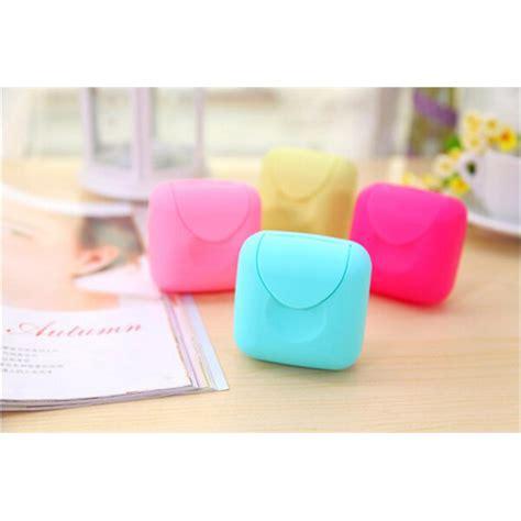 Sabun Fair Pink Black Soap outdoor travel convenient soap boxes kotak sabun pink jakartanotebook