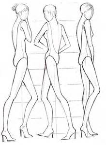 Fashion sketches body on how to draw for beginner
