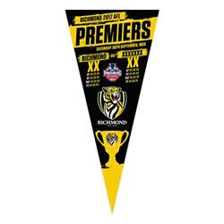 Gold And Red Bedroom - richmond tigers 2017 premiers felt wall pennant afl footy shop