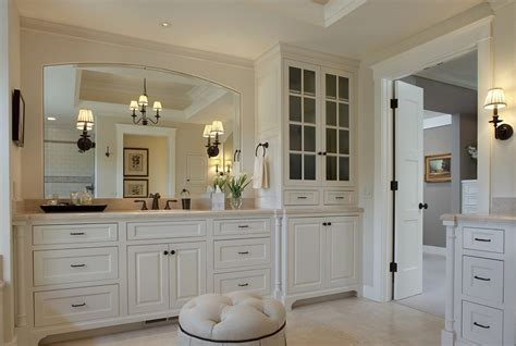 cream colored bathroom cabinets cream colored bathroom beach style with window traditional