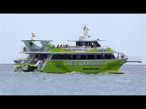 glass bottom boat tours menorca sa coma beach hd 2011 sea odysee glass bottom boat